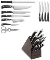 Wusthof Ikon Blackwood 12-Piece Knife Block Set