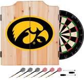 NCAA Iowa Hawkeyes Wood Dart Cabinet Set