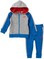Puma Baby Boy Marled Jacket & Pants Set