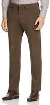 Canali Stretch Twill Classic Fit Trousers