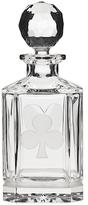 Godinger Black Jack Square Whiskey Decanter