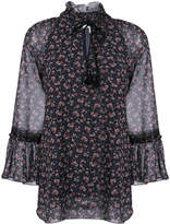 See by Chloe keyhole peasant blouse
