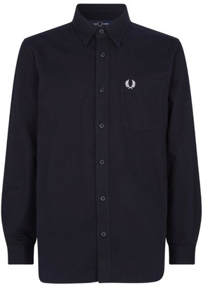 Fred Perry Brushed Cotton Overshirt