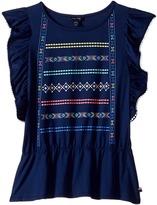 Tommy Hilfiger Flutter Sleeve Knit Top Girl's Clothing