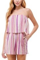 Thumbnail for your product : BeBop Juniors' Striped Popover Romper