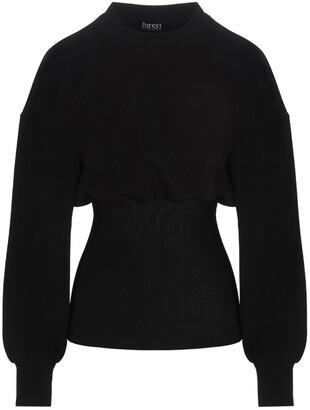 Diesel Puff-Sleeve Panelled Sweater