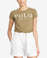 Polo Ralph Lauren Appliquéd Cotton Jersey T-Shirt