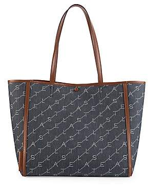 Stella McCartney Women's Small Monogram Denim Tote