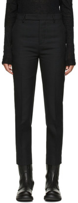 Rick Owens Black Austin Trousers