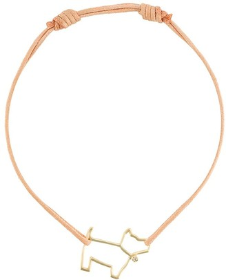 ALIITA 9kt Gold Dog Cord Bracelet