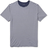 Derek Rose - Alfie Striped Stretch-micro Modal Jersey T-shirt