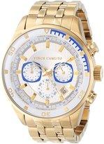 Vince Camuto Men's VC/1044WTGP The Admiral Chronograph Gold-Tone Bracelet Watch