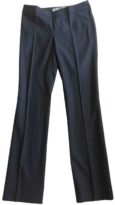Reed Krakoff Anthracite Wool Trousers for Women