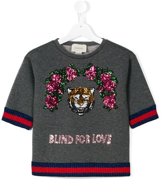 Gucci Kids Blind For Love sweatshirt