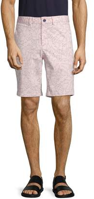Saks Fifth Avenue Printed Stretch Shorts