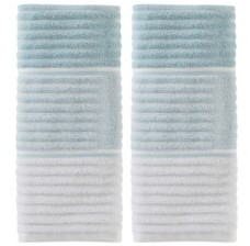 Saturday Knight Planet Ombre 2 Piece Hand Towel Set Bedding