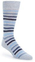 Cole Haan Men's Wave Stripe Socks