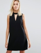 Greylin Dawnson Mock Neck Shift Dress