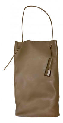 Building Block Camel Leather Handbags