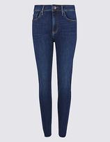 Limited Edition Cut Hem Mid Rise Skinny Leg Jeans