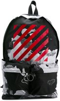 Off-White abstract print backpack