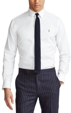Polo Ralph Lauren Men's Estate Classic/Regular Fit Oxford Dress Shirt