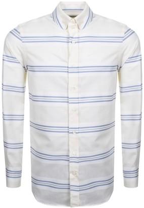 Vivienne Westwood Krall Stripe Shirt Cream