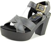 Sbicca Blackwell Women Open Toe Leather Platform Sandal.