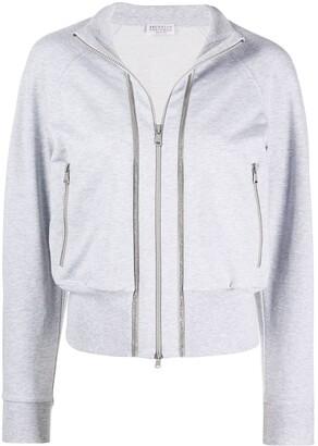 Brunello Cucinelli zipped-up jacket