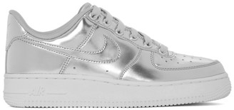 Nike Silver Air Force 1 SP Sneakers
