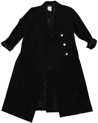 Chanel Black Wool Coats