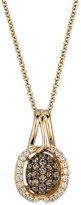 LeVian Le Vian Chocolatier Diamond Pendant Necklace (3/8 ct. t.w.) in 14k Gold