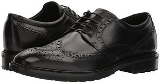 Ecco Vitrus I Wingtip Tie (Nature) Men's Lace Up Wing Tip Shoes