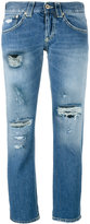 Dondup 'Segolene' distressed jeans - women - Cotton - 25