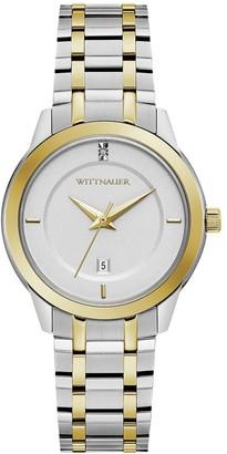 Wittnauer Women's Two-Tone Diamond Accent Watch
