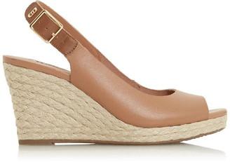 Dune London Kicks 2 Espadrille Wedge Heel Sandals