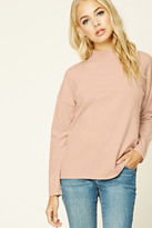 Forever 21 FOREVER 21+ Contemporary High Neck Sweater