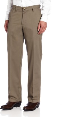 Wrangler Men's Tall Riata Flat Front Relaxed Fit Casual Pant