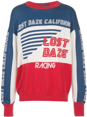 Lost Daze Colour Block Jumper
