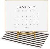 Sugar Paper Classic Black Calendar