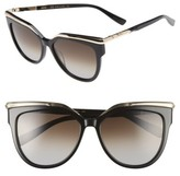 MCM Women's 56Mm Cat Eye Sunglasses - Black