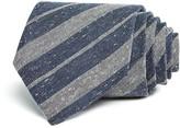 John Varvatos Donegal Tweed Alternating Stripes Classic Tie
