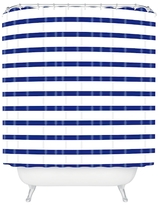 DENY Designs Nautical Stripe Shower Curtain