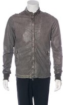 Giorgio Brato Leather Washed Jacket