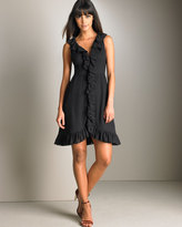 MARC by Marc Jacobs Dotted Chiffon Dress, Black