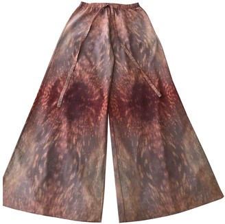 Alexis Pink Trousers for Women