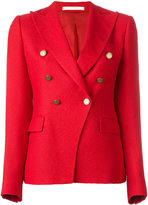 Tagliatore pointed lapels double-breasted blazer - women - Polyamide/Cupro/Viscose - 42