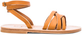 K. Jacques Leather Galapagos Sandals