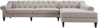 Jennifer Taylor Alexandra Tufted Right Sectional Sofa
