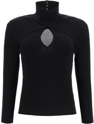 MSGM sweater with cut-out